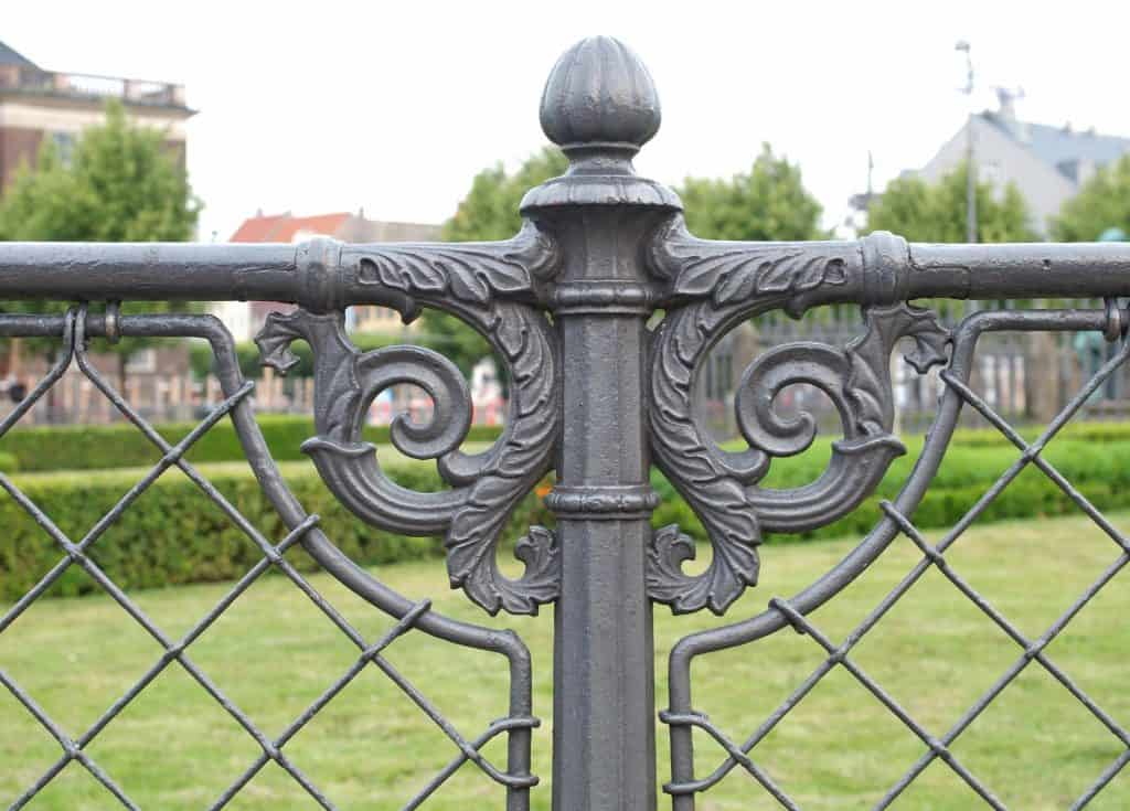 iron fence and gates Roswell